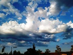 Nubes del atardecer, 6