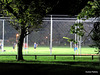 Evening Football Practice.