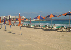 Am Strand LaOliva bei Corralejo