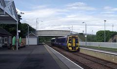 158714 arrives at Dingwall