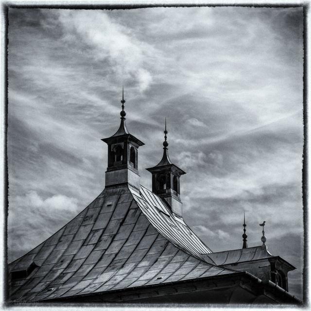 Dach mit Türmchen