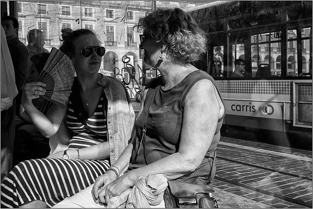 Lisboa O calor.