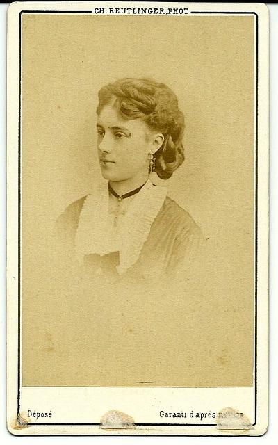 Marguerite Chapuy by Reutlinger