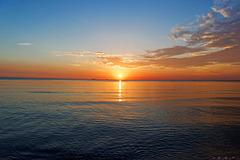 Szenen eines Sonnenaufganges - Heringsdorf am 12. Juli 2016 / 05:00 (© Buelipix)