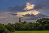 Wolke über St. Ferrutius in Bleidenstadt