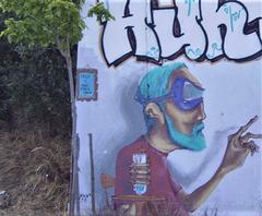 Street art by Mojojojo.