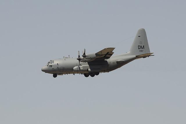 55th Electronic Combat Group Lockheed EC-130H Hercules 65-0967