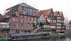 Der Stintmarkt, Lüneburgs Hafenviertel