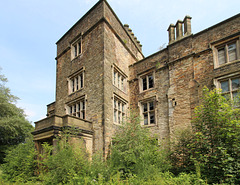 Winstanley Hall, Wigan, Greater Manchester (now falling into ruin)