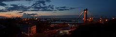 Одесса, Ночная Панорама Порта / Odessa, Night Panorama of the Sea Port