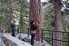 Visitors at Tahoe