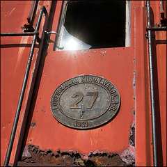iron ore transport locomotive no. 27 - 1931