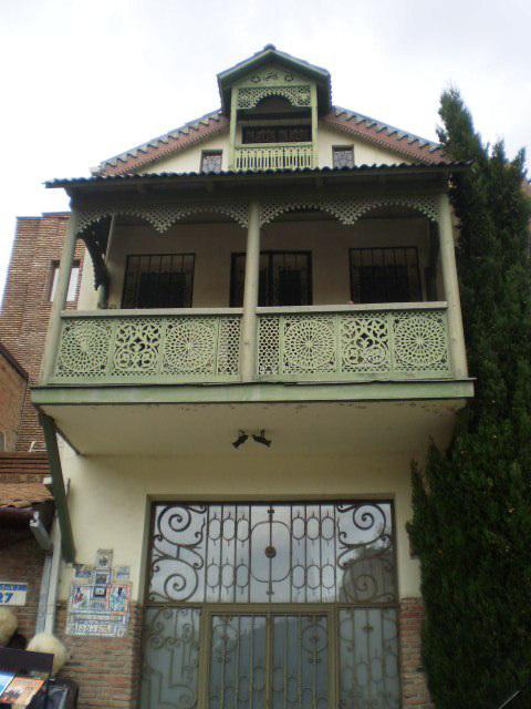 Typical Georgian façade.