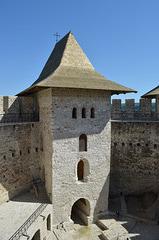Moldova, Soroca Fortress, Entrance Tower