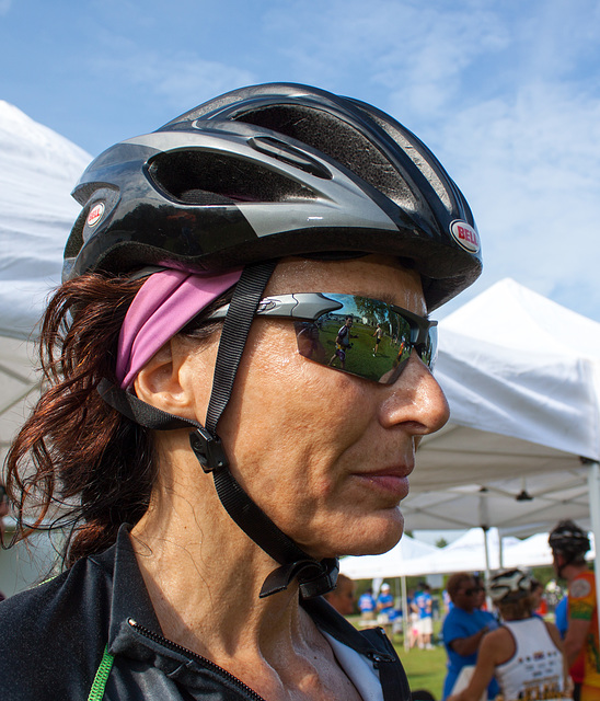 Cyclist profile 1, Bike MS