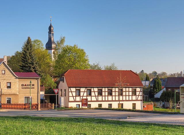 (119/365) Heute Morgen in Neumark/Vogtland