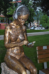 """""""Youth of Today!"""" A sculpture in Bad Herrenalb"""