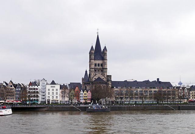 Groß St. Martin Kirche in Köln
