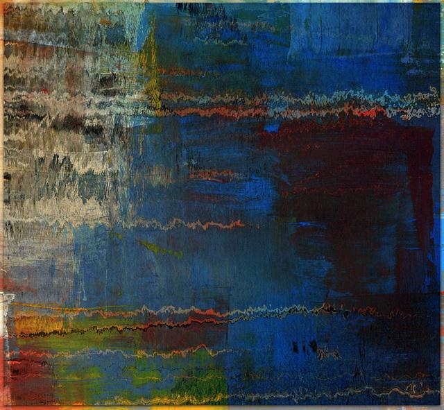 reflets en peinture