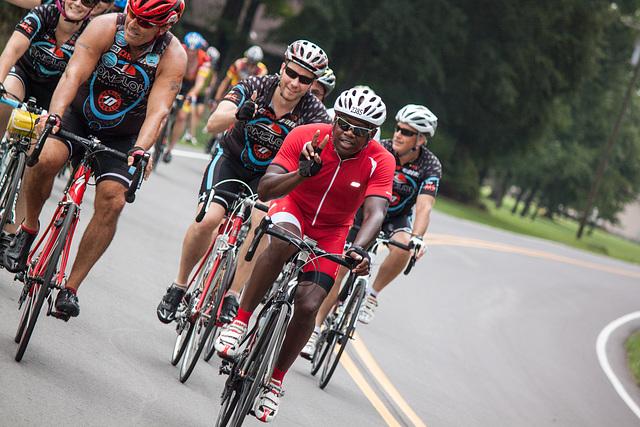 Rest Stop #2, Bike MS