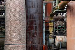 steelworks columns