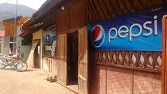 Pepsi au Laos