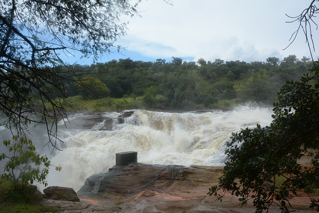 Uganda, Murchison Waterfall, Upper Step