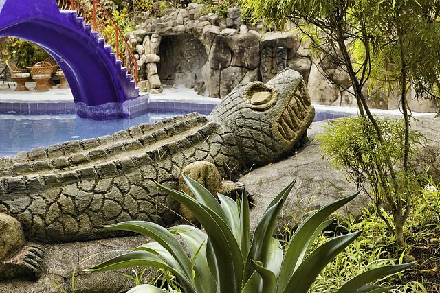 Stylized Terror – Hotel San Bada, Quepos, Puntarenas Province, Costa Rica