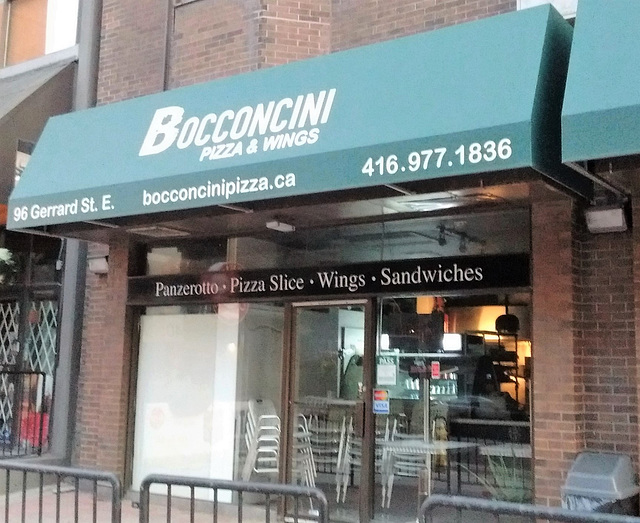 Bocconcini pizza & wings