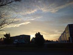 Lever de soleil hôtelier / Quality Inn sunrise