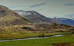 River Affric at Athnamulloch - Glen Affric