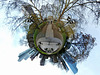 360 Grad Panorama (Little Planet)  - Frankfurt - Taunusanlage