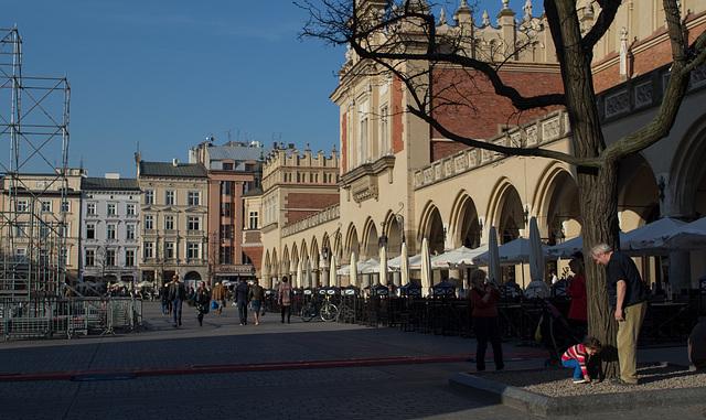 Poland, Krakow Rynek Główny  (#2429)