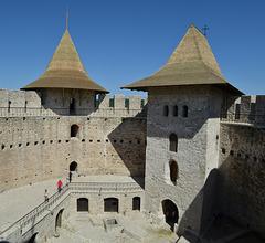 Moldova, Soroca Fortress, Internal Space