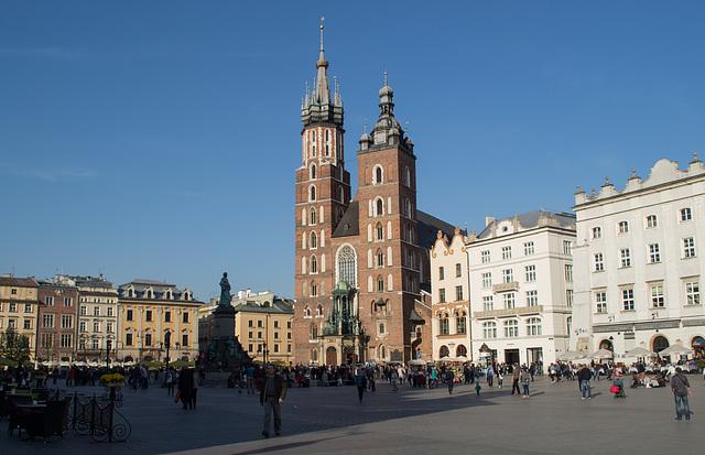 Poland, Krakow Rynek Główny  (#2430)