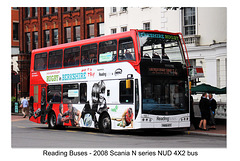 Reading Buses 861 - branded Rugby in Berkshire - 18.8.2015