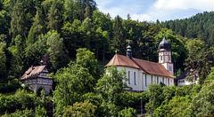 Tolle Aussicht (PiP) - Die Wallfahrtskirche in Triberg