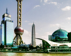 Shanghai. Two Towers. ©UdoSm
