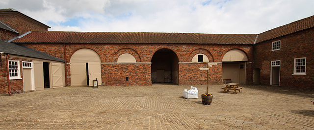 Stables, Burton Constable Hall, East Riding of Yorkshire
