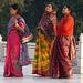 Agra- Splendid Saris at the Taj Mahal