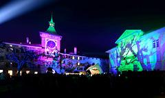 Festival des Lumières dans la cité médiévale de Morat ...