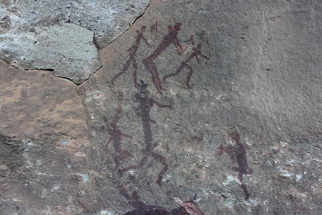 San Cave Art, Drakensburg