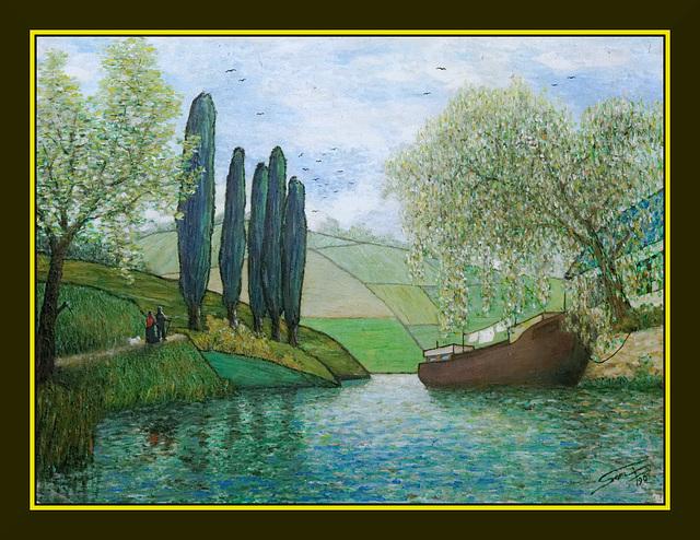 Promenade au bord de l'eau (1990)