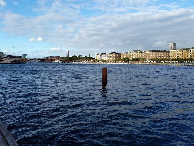 Am Sydhavnen-Kanal in Kopenhagen