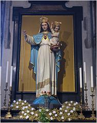 The Virgin Mary & Baby Jesus