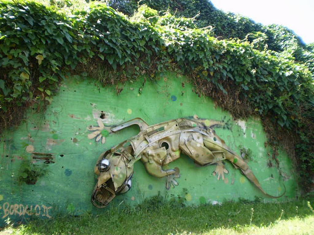 Gecko - by Bordalo II.