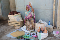 In the Market at Mekele