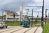 Besançon (25). Juin 2016. Le tram devant la gare Viotte.