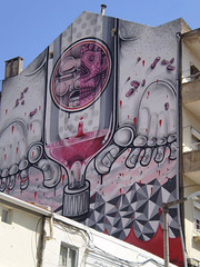 Warping painting by How & Nosm.