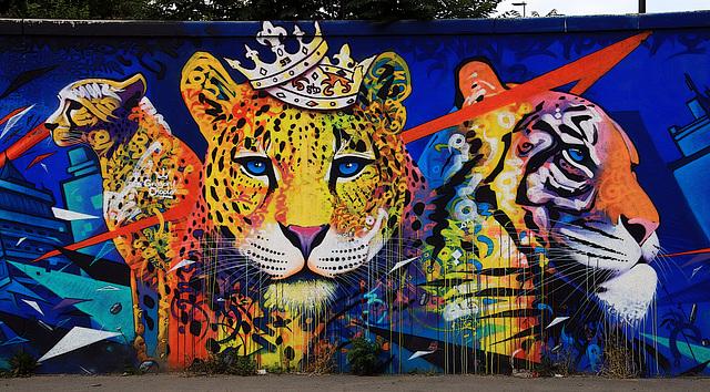 Oeuvre de Marko - Street art